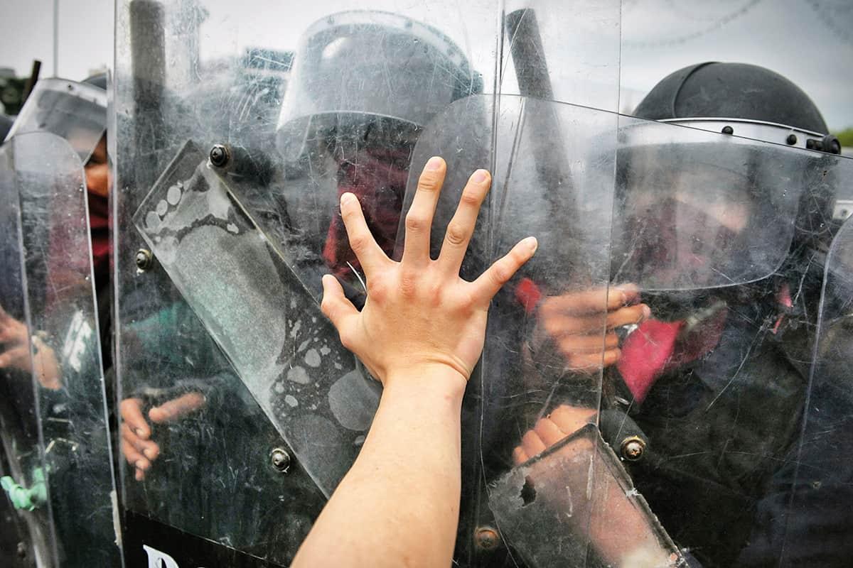 Die Kriminalisierung von Umweltbewegungen