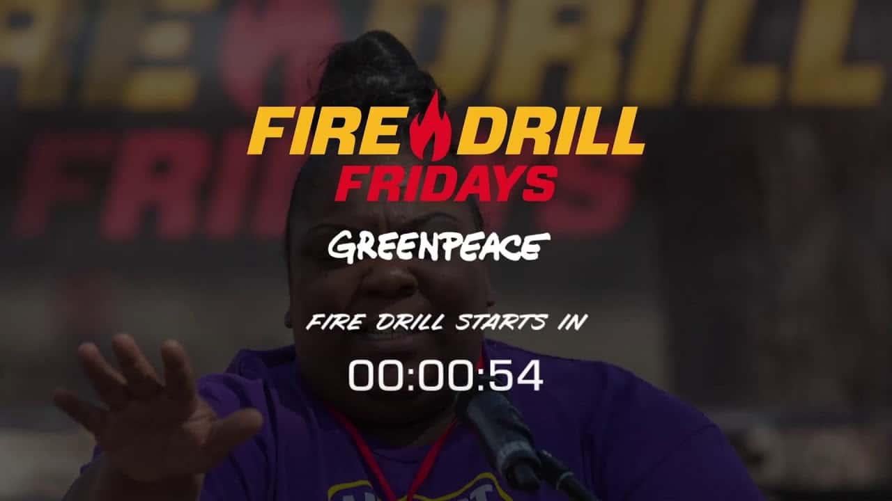 Feuerwehrübung Freitag: Februar Rallye |  Bidens Executive Orders |  Greenpeace USA