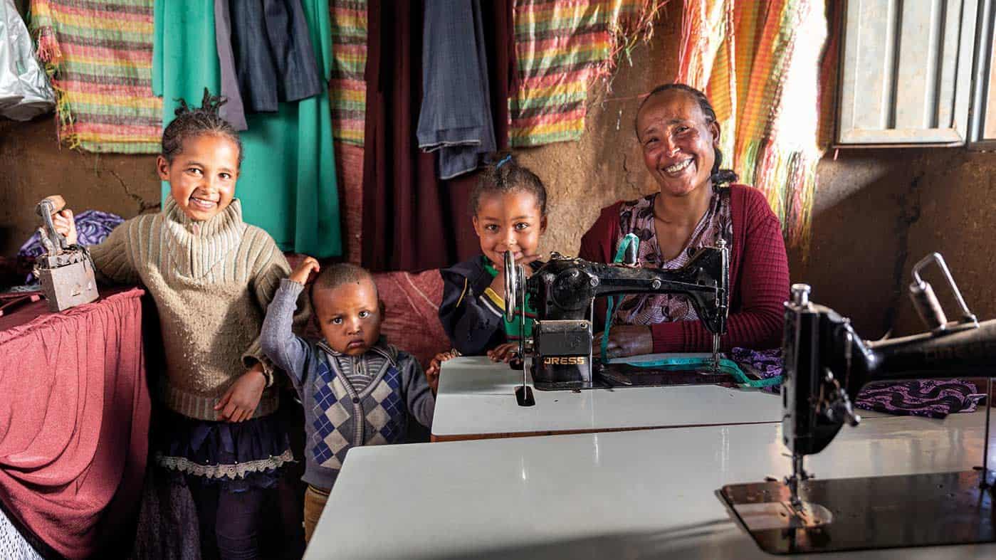 Projektthema Einkommen | Schulungen – Kurse – Kleinkredite | Äthiopienhilfe