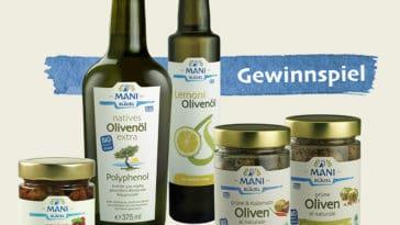 Gewinnen: Bio-Genusspaket von MANI